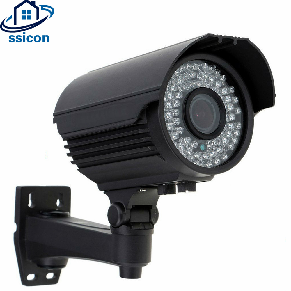 SSICON 4.0MP Waterproof Bullet 2.8-12mm Varifocal Lens 4X Zoom AHD Camera Night Vision Outdoor Security CCTV Camera Waterproof cctv ahd camera 1 0mp ahd m 720p varifocal bullet bnc hd analog outdoor waterproof ip66 security 2 8 12mm zoom night vision
