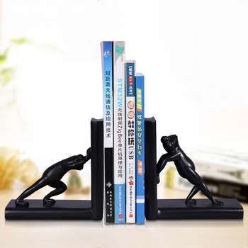 Creative black resin frog statue home decor crafts room decoration office study vintage frog bookend animal figurine ornaments