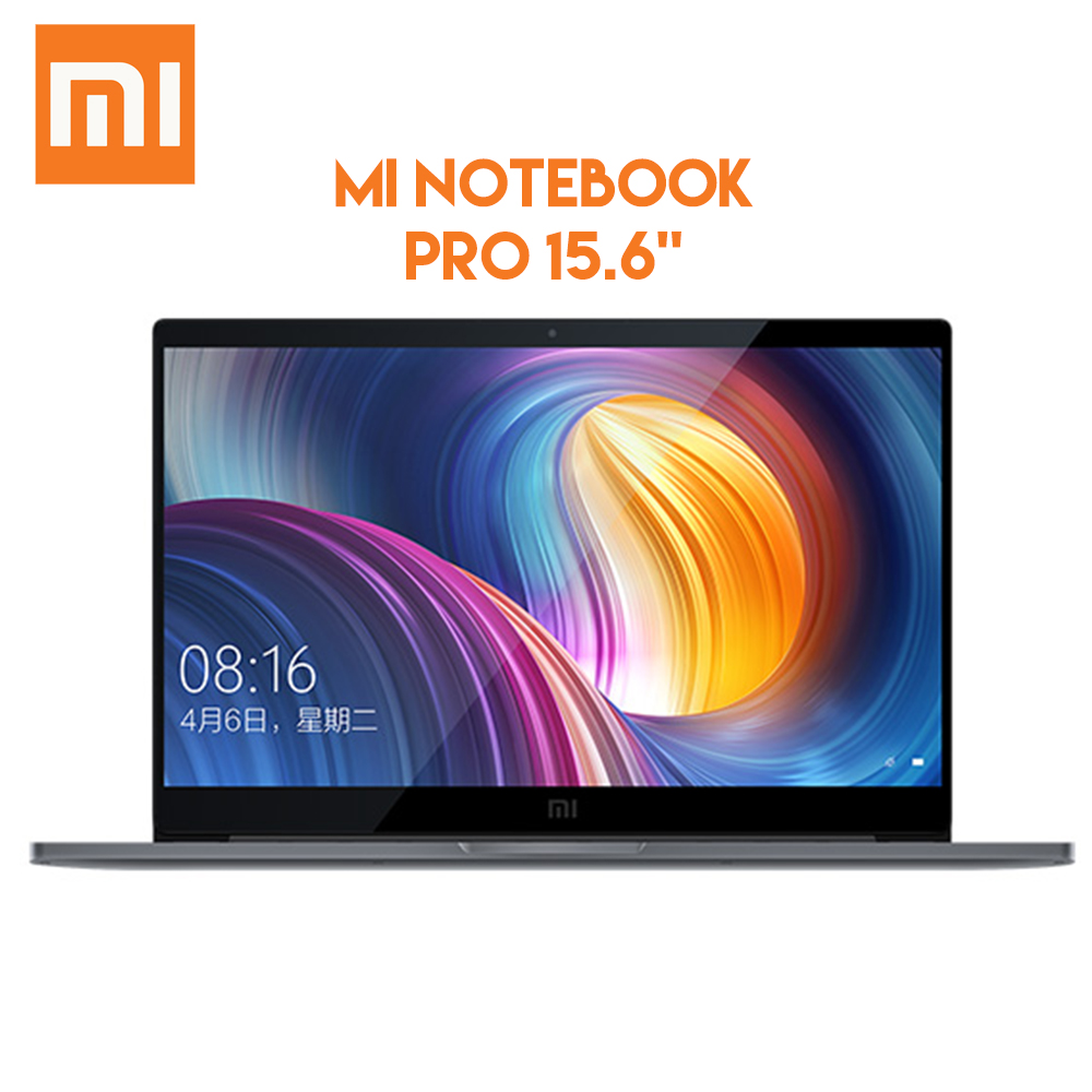 Original Xiaomi Mi Notebook Pro 15.6 inch Windows Intel Core i5 - 8250U 8GB RAM DDR4 256GB SSD Fingerprint Recognition AC WiFi
