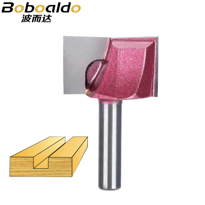 8mm Shank Mortising Cleaning Bottom Engraving Bit Carbide Router Bit Woodworking Tools CNC Milling Cutter Endmill Wood Flat Door