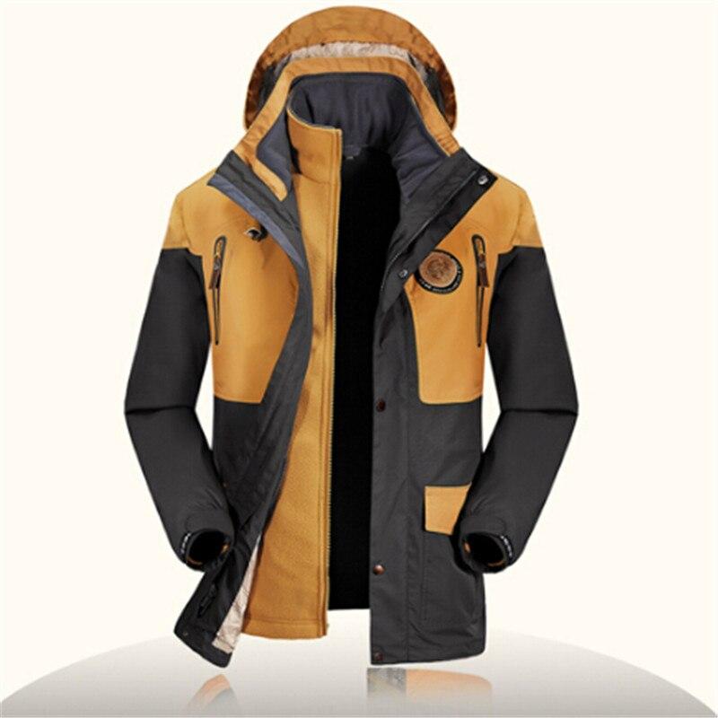 Nouveau hiver Trinity détachable intérieur imperméable coupe-vent veste Street multi-fonctionnelle marque veste hommes couleur correspondant veste