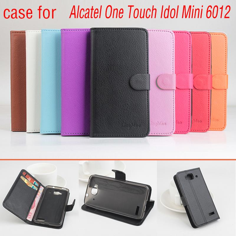 Phone case for Alcatel One Touch Idol Mini 6012 About Flip C