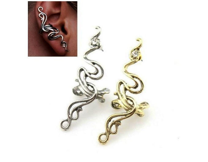 Punk Western Wind Dragon Earrings