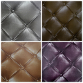 Luxury Faux Leather 3D Wallpaper For Wall Living room Wall Paper Roll Background Wallcoverings