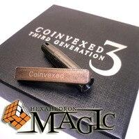 Coinvexed 3rd דור על ידי דוד פן ו עולם חנות קסמים/תקריב רחוב מטבע הקסם סיטונאי מוצר משלוח חינם