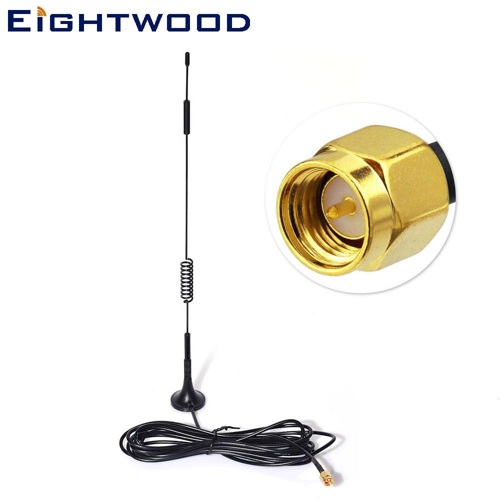 2019 Neuer Stil Eightwood 7dbi Magnet Antenne High Gain 4g Lte Cprs Gsm 2,4g Wcdma 3g Wifi Signal Booster Verstärker Modem Directional Adapter