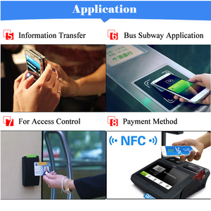 Image 5 - 6 قطعة NFC Ntag213 العلامة ملصق Ntag 213 لهواوي 13.56MHz العالمي تسمية تتفاعل مفتاح رمز دورية خفيفة