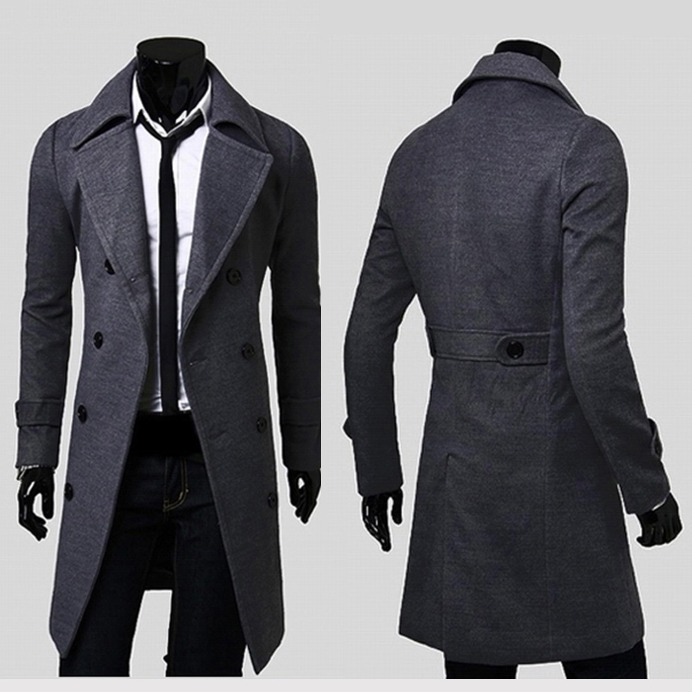 A Winter Jacket Coat For Men Plus Size Trench 2015 New Fashion ...