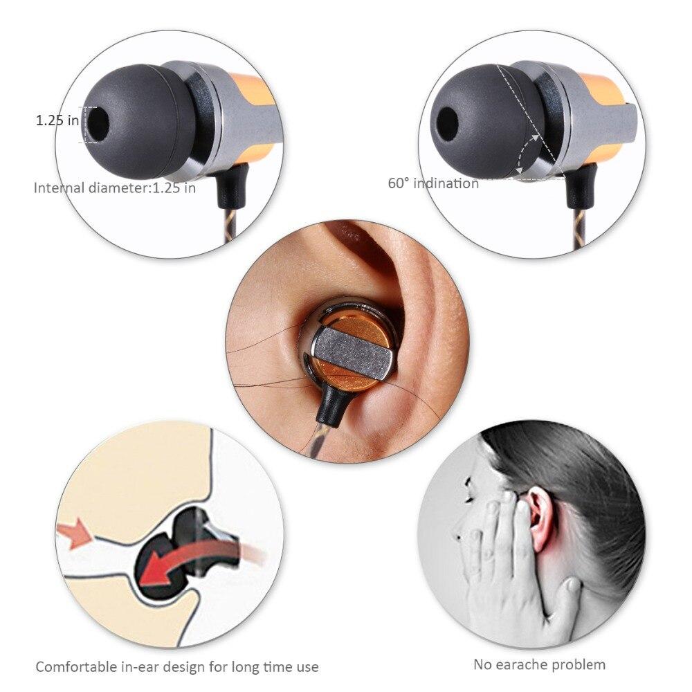 Bada hörlurar med hörlurar med hörlurar med mikrofon Magnetisk - Bärbar ljud och video - Foto 4