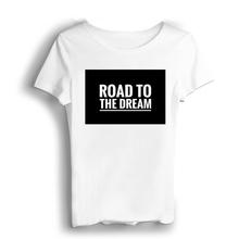 цена на Road To The Dream Men T Shirts Tops White Military Shirt Modal Casual Short  T-shirt Wholesale T Shirts  O-Neck China (Mainland)