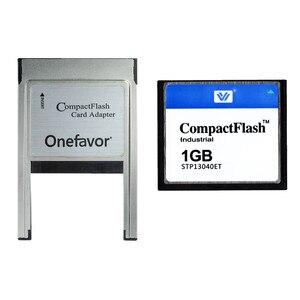 Image 4 - 10 יח\חבילה 128 mb 256 mb 512 mb 1 gb 2 gb 4 gb Compact Flash כרטיס CF התעשייתי זיכרון כרטיס עם PCMCIA מתאם סוג II & סוג אני