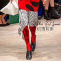 Collant New Arrival Limited Print Cotton Polyester 2017 Fashion Show Bodystockings Woman Totem Pantyhose Tights Ladies Women
