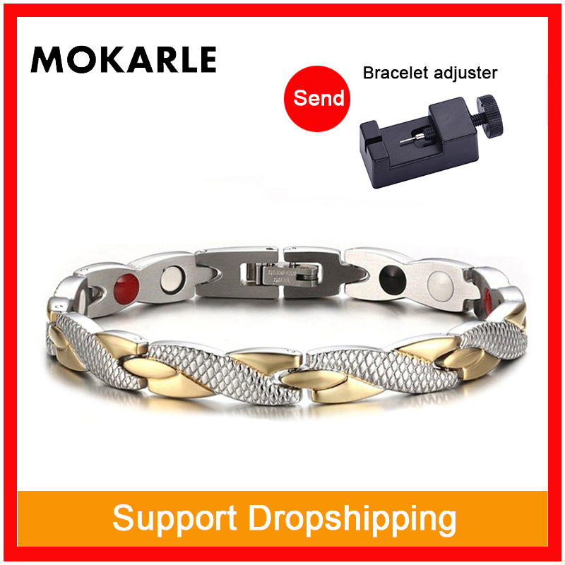 Bracelet minceur magnétique populaire bijoux à la mode pour homme femme lien chaîne perte de poids Bracelet santé produits minceur