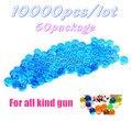 10000 pacote de 50 de cristal Paintball acessórios CS jogo bala arma de brinquedo pistola bala arma Nerf
