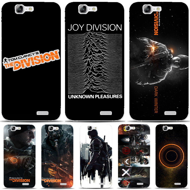 G349 Tom Clancy S The Division Transparent Hard Thin Skin Case Cover For Huawei P 6 7 8 9 10 Lite Plus Honor 6 7 8 4C 4X G7