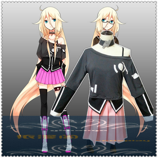 US $45 98 |Anime Vocaloid 3 Library IA Aria On The Planetes Women Dress  Cosplay Costume Hatsune Miku full set on Aliexpress com | Alibaba Group
