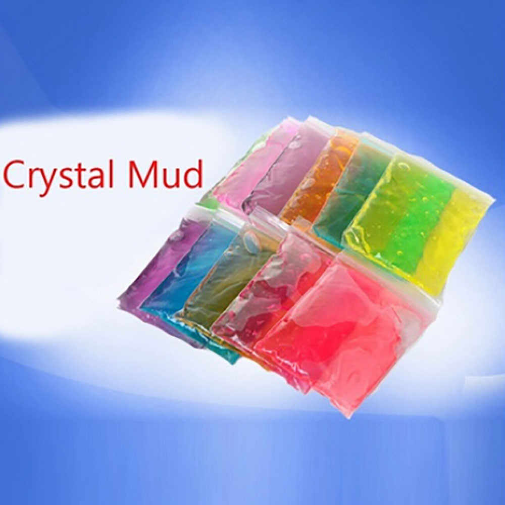 2018 Kids toy Clay Slime DIY Crystal Mud Play Transparent Magic Plasticine Child Toys dropshipping