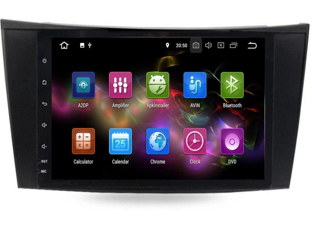 4G LTE autoradio Android 9.0 unité de Tête De Voiture lecteur dvd gps pour Mercedes Benz E-Classe W211 E200 E220 E240 e270 E280 2002-2008 W219