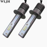 WLJH 2x H1 Led Bulbs 80W 1200LM High Power LED Car Auto Replacement Headlight Fog Light