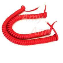 5 шт./лот четыре ядра тел линия/кривой линии ручка телефонная трубка шнур.