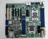 100% placa-mãe do servidor de trabalho para X8DTL-6 lga1366 lsi sas 2008 5690 totalmente testado