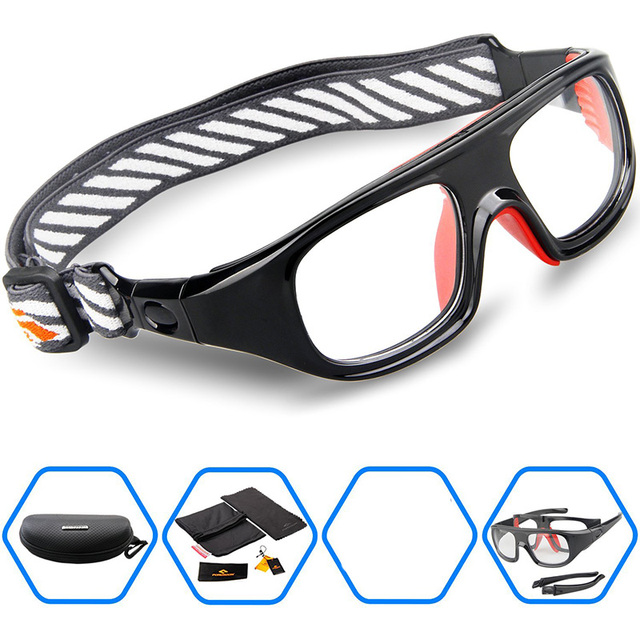 3b6410c9a255 2017 Protective Men Sports Eyewear Glasses Goggles for Basketball Soccer  Football Rugby Tennis Hockey Myopia Frame Gear