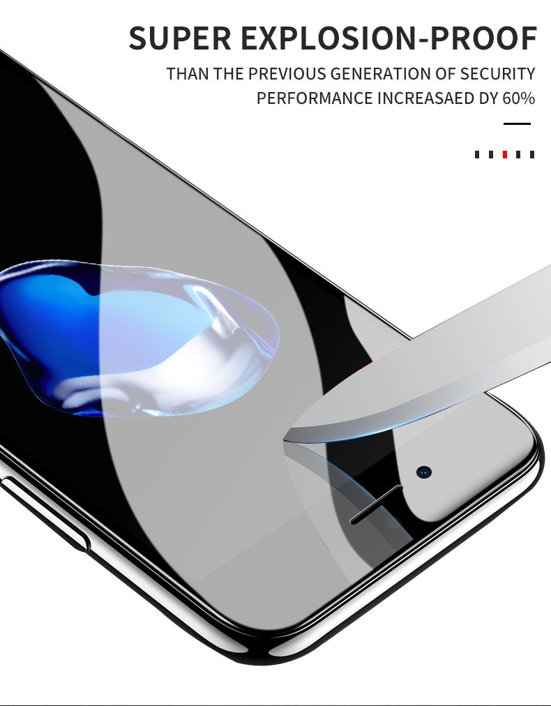 MEIZE 9D Protective Glass for iPhone 7 Screen Protector iPhone 8 Xr Xs Xs Max Tempered Glass on iPhone X 6 6s 7 8 Plus Xs Glass 10