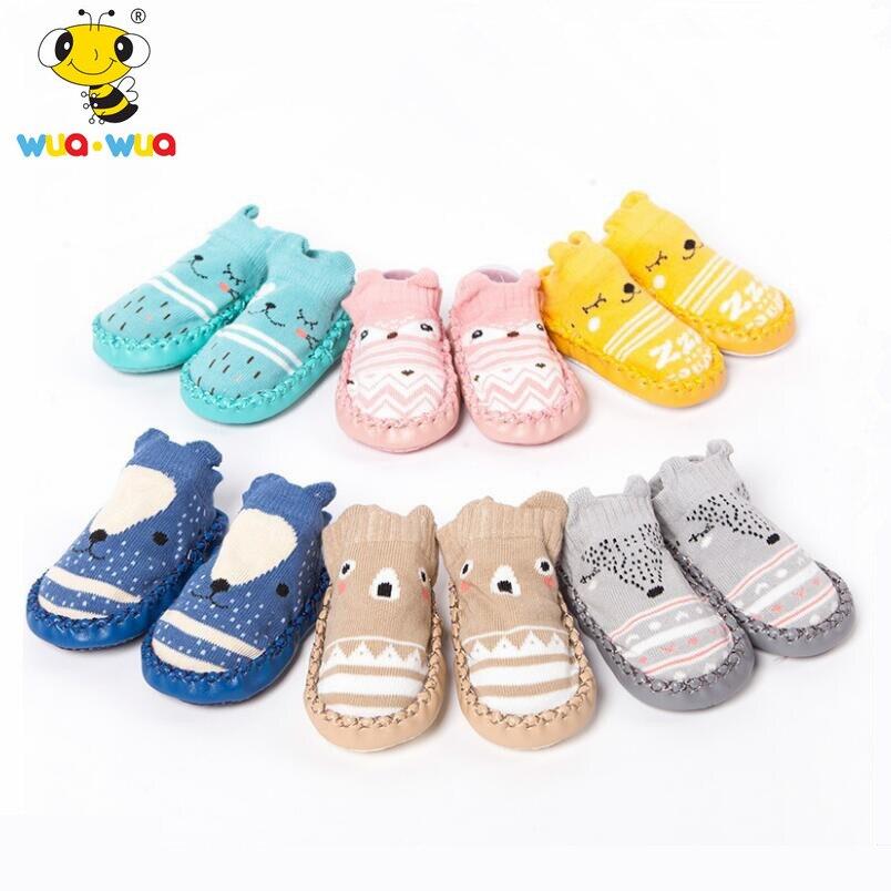 baba cipő zokni baba lány slipness zokni csecsemő pamut zokni a ... 3f6d078b50