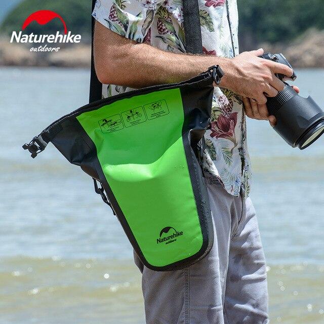 Naturehike полная Водонепроницаемая камера водонепроницаемая сумка для DSLR камеры сумка для Sepside фотографии