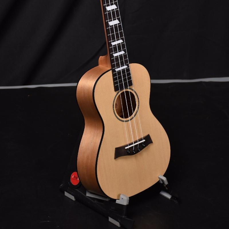 Concert Ukulele 23 Inch Hawaii 4 Strings Ukelele Picea Asperata Mahogany handcraf Wood White Black Edging Uke