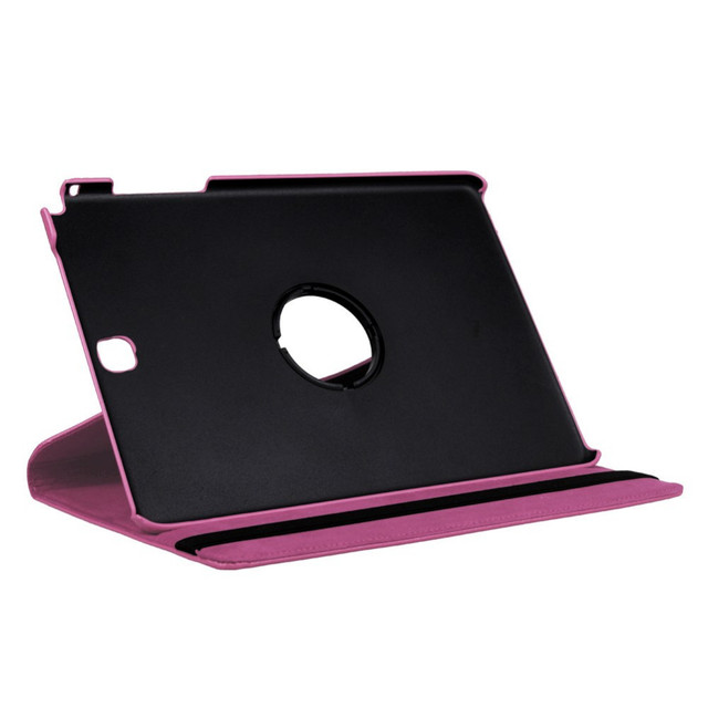 New 360 Rotating PU Leather Stand Shell Cover For Samsung Galaxy Tab A 9.7″ SM-T550 Tablet Case CL66