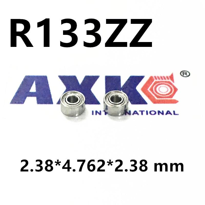 R133zz Bearing ABEC-1  2.38*4.762*2.38 mm Deep Groove R133 Z ZZ Ball Bearings 3/32x 3/16x 3/32 inch R133z Beairng 5pcs 628 2z zz bearings deep groove ball bearing 8 x 24 x 8mm
