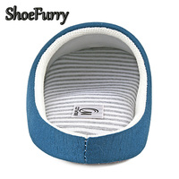 ShoeFurry Winter Men Home Slippers Casual Shoes Warm Plush Male Indoor Slippers Cotton Shoes Antiskid Mute Man Bedroom Slippers 5