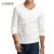 E-BAIHUI marca outono inverno roupa interior térmica dos homens hoodies Dos Homens fit camisetas t camisa de algodão ocasional camisa básica masculina JR035