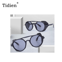 Oversized Woman Sunglasses Women Brand Luxury 2019 Designer Fashion Round for Big Mirror UV400 High Quality