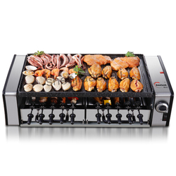 SYK-10 Household no-smoke barbecue pits Korean-type Electric Grill Large capacity Grilling machine commercial grills & griddles