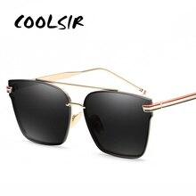 COOLSIR Fashion Luxury Brand Designer Male Sun Glasses For Men Sunglasses Shades Eyewear Oculos Lunettes Homme