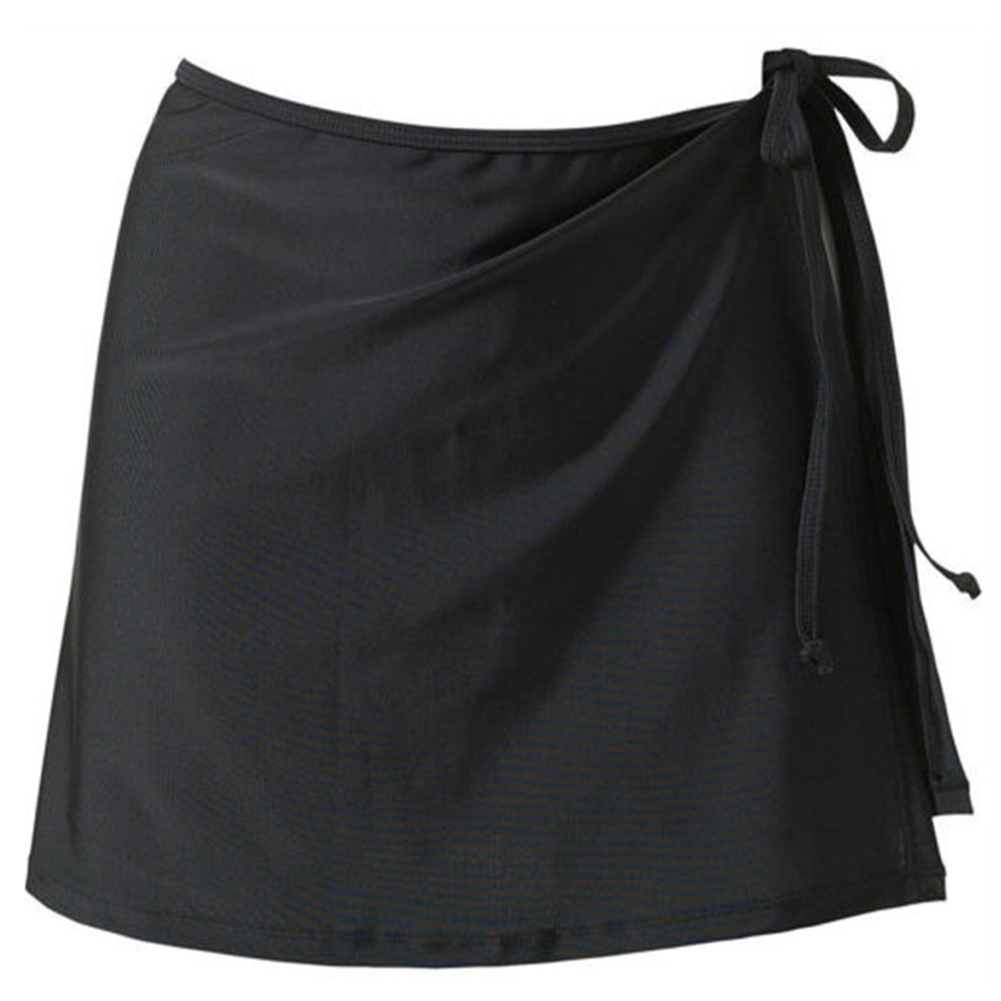 Loose Swimming Beach Sarong Summer Short Wrap Holiday Fashion Solid Cover Up Bikini Women Skirt Casual