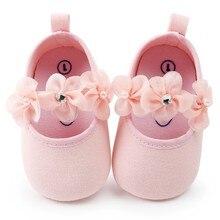 Детская обувь с цветами; обувь для новорожденных девочек; модная обувь с цветами для маленьких принцесс; обувь для маленьких девочек