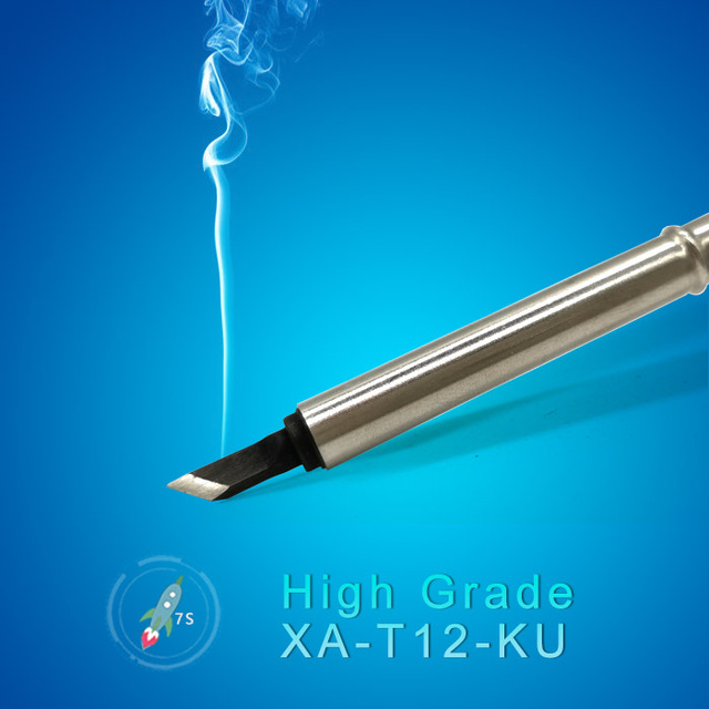 QUICKO XA High-grade T12-KU soldering Tip for 951 952 HAKKO T12 soldering station 7s melt tin welding tools