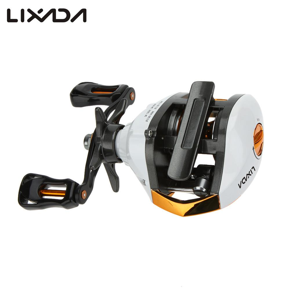 Lixada high speed baitcasting fishing reel lure fishing for How to reel in a fish