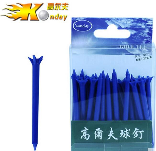 Retail High Quality 30pcs 1box Grown font b golf b font Tee Divot Tools Brand ABS