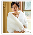 New Arrival 2016 Winter Fur Jacket Wedding Wrap Bridal Cape