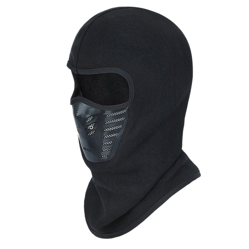 Face Mask Outdoor Winter Warm Bicycle Bike Climbing Skiing Windproof Carbon Filter Thermal Fleece Balaclava Head Protector|Cycling Face Mask| |  - title=