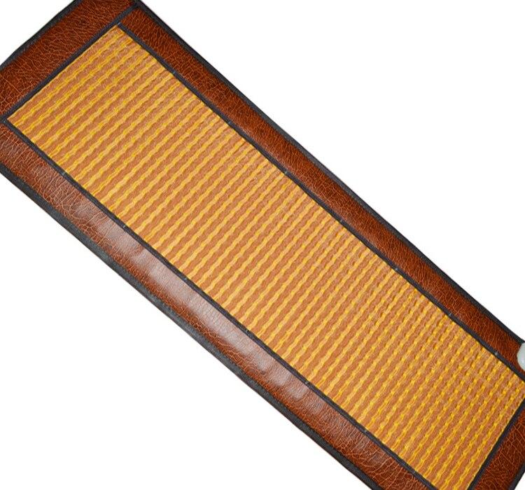 High quality!  Heating Anion Velvet Stone Mattress Electric Heating Mattress Jade Massage Mattress Heat  50*150CM 2016 electric heating massage jade stone mattress korean mattress wholesaler 1 2x1 9m