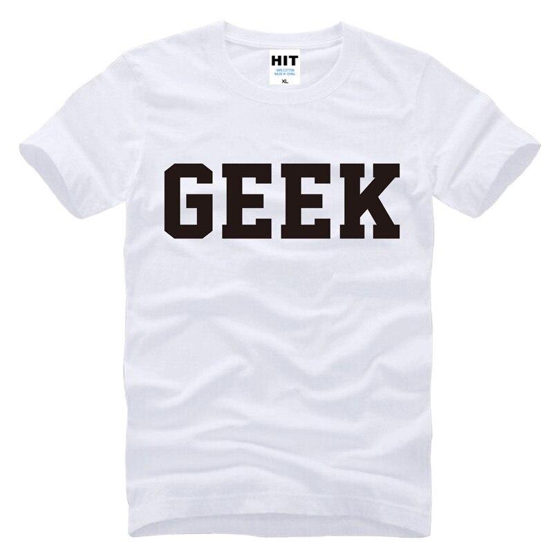 GEEK carta streetwear fresco Impreso Hombres Hombres Camiseta de la - Ropa de hombre