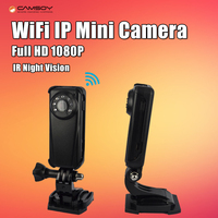 Wifi IP Mini Camera Full HD 1080P Night Vision Kamera Clip Motion Detection Micro Camera DV