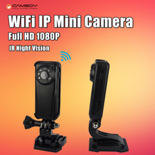 Wi-Fi IP мини Камера Full HD 1080 P Ночное видение Kamera клип обнаружения движения micro Камера DV DVR Камера мини видео видеокамера