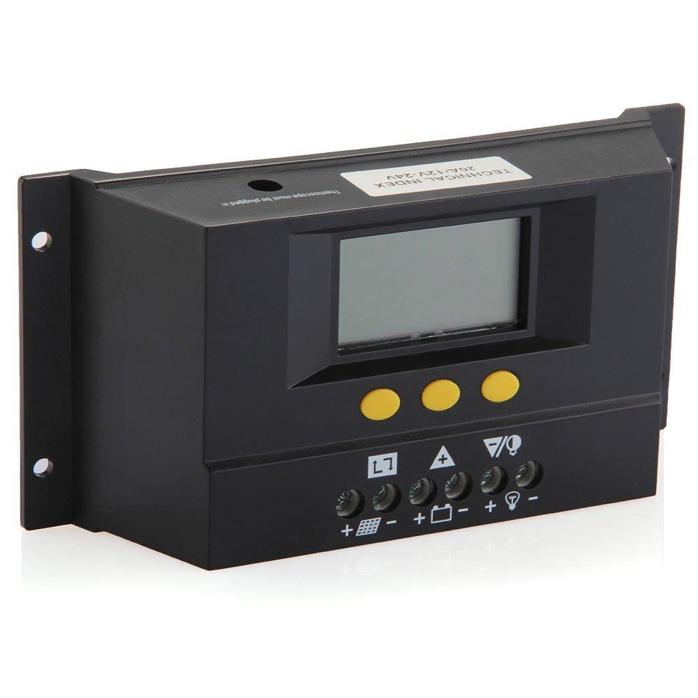 12 24v Solar Charge Controller Solar Panel Regulator