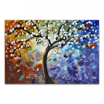 DONGMEI OILPAINTING  Hand painted oil painting Home Decoration High quality Art painting flower  pictures   Gift      DM15031433